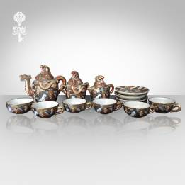 (TPC 21) TEA SET SATSUMA